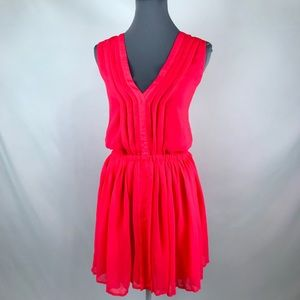 Victoria's Secret XL pink stretchy waist dress